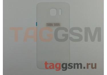 Задняя крышка для Samsung SM-G925 Galaxy S6 Edge (белый)