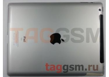 Задняя крышка для iPad 3 3G + держ. сим 64GB (серебро)