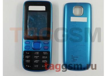 Корпус Nokia 2690 со средней частью + клавиатура (синий)