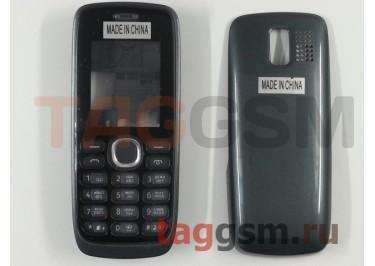 Корпус Nokia 112 со средней частью + клавиатура (серый)