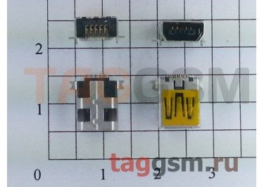 Разъем зарядки для Alcatel / Philips Mini USB 10pin