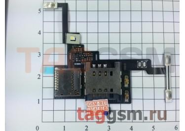 Шлейф для LG P880 Optimus 4X HD + разъем сим / карты памяти + вибро