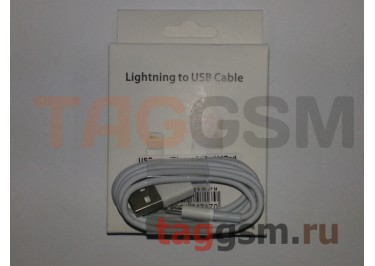 USB для iPhone 6 / iPhone 5 / iPad4 / iPad Mini / iPod Nano (в коробке) белый, ААА