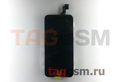 Дисплей для iPhone 5C + тачскрин черный AAA
