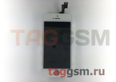 Дисплей для iPhone 5S + тачскрин белый, ориг