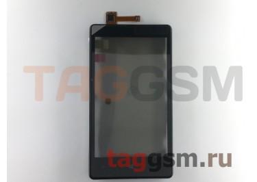 Тачскрин для Nokia 820 (черный) в сборе с передней панелью