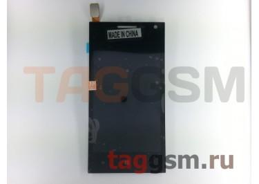 Дисплей для Huawei Ascend W1 + тачскрин (черный)