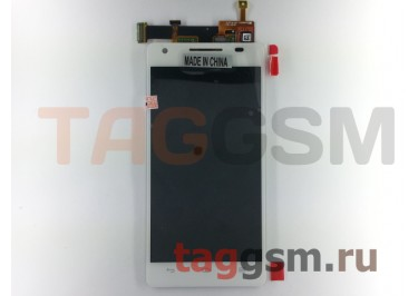 Дисплей для Huawei Honor 3 + тачскрин (белый)