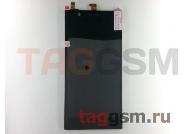 Дисплей для Lenovo K900 IdeaPhone + тачскрин (черный)