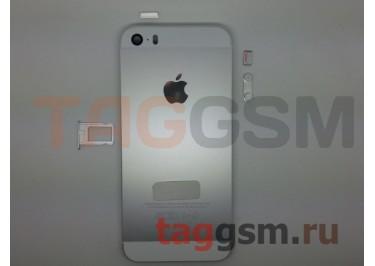 Задняя крышка для iPhone 5S (серебро) AAA