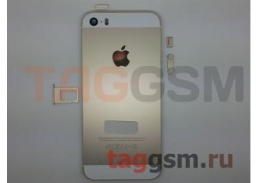 Задняя крышка для iPhone 5S (золото) AAA