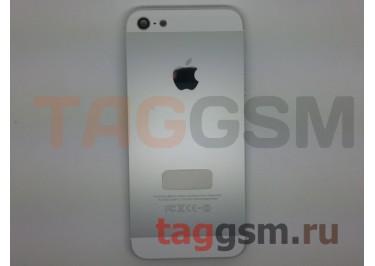 Задняя крышка для iPhone 5 в сборе + кнопка включения + боковые кнопки (белый), ОРИГ100%