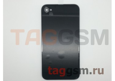 Задняя крышка для iPhone 4 (черный), оригинал