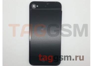 Задняя крышка для iPhone 4S (черный), оригинал