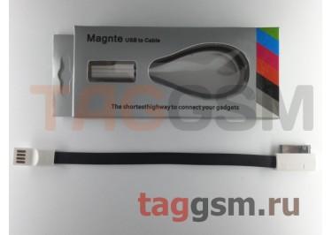 USB для iPhone 4 / iPhone 3 / iPad / iPad 2 / iPod плоский с магнитом, в ассортименте