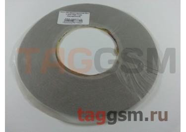 Скотч 3M двухсторонний 50м х 2мм (прозрачный), High Copy