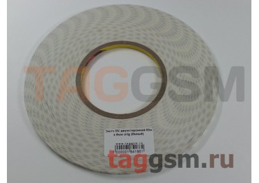 Скотч 3M двухсторонний 50м х 5мм (белый), ориг