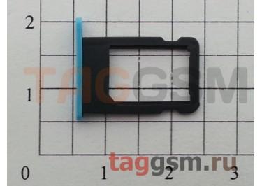 Держатель сим для iPhone 5C (синий)
