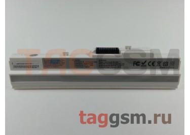 АКБ для ноутбука MSI WIND / WIND12 U90 / U100 / U115 / U120 / U123 / U205 / U210 / U223 / U250 / U270 (TYPE: BTY-S11, BTY-S12, BTY-S13) 11,1V 5200mAh, белый