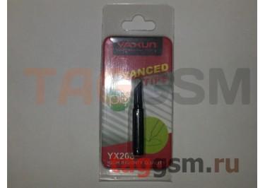 Жало для паяльника YAXUN YX208K плоское (черный)
