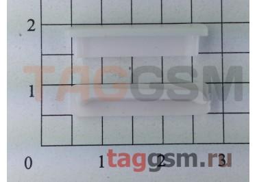 Заглушка разъема зарядки для iPhone 4 / 4s (белый)