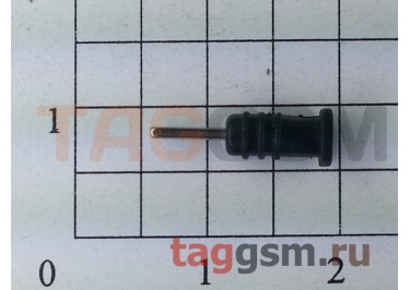 Заглушка разъема гарнитуры для iPhone 4 / 4s (черный)