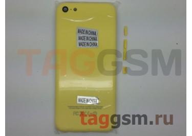 Задняя крышка для iPhone 5C (желтый), ориг