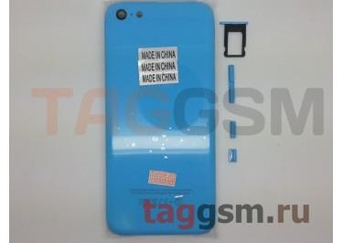 Задняя крышка для iPhone 5C (синий), ориг