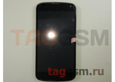 Дисплей для LG E960 Nexus 4 + тачскрин в рамке, ориг