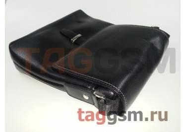 Сумка мужская черная (кожа) 225