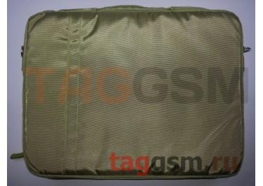 Сумка для ноутбука 37х28 15 дюймов (зеленая) FL15