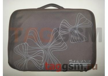 Сумка для ноутбука 12 дюймов Цветы (графит) FL 12