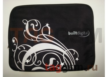 Сумка для ноутбука УЗОРЫ 37х28 15 дюймов (черная) FL15