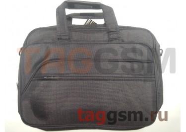Сумка для ноутбука 43х32см (черная) 8017