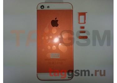Задняя крышка для iPhone 5 (оранжевый)