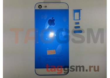 Задняя крышка для iPhone 5 (синий)