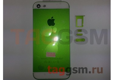 Задняя крышка для iPhone 5 (зеленый)