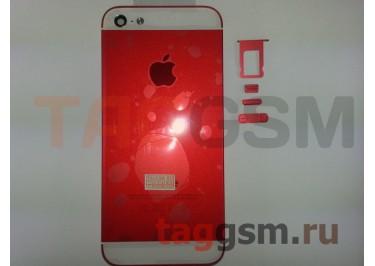 Задняя крышка для iPhone 5 (красный)