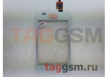 Тачскрин для Sony Xperia E Dual (C1605) (белый), оригинал