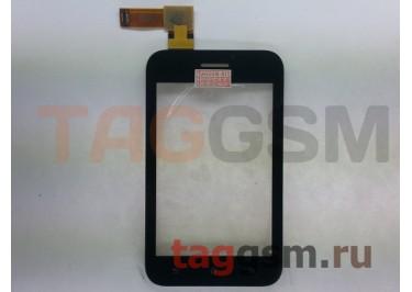 Тачскрин для Sony Xperia Tipo (ST21i) (черный), ориг