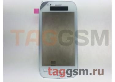 Тачскрин для Nokia 710 (белый) в рамке, ориг T-Mobile