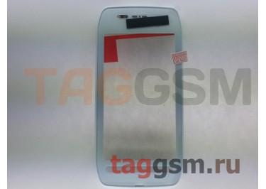 Тачскрин для Nokia 603 (белый) в сборе с передней панелью