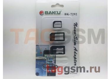 Набор сим-переходников Baku BK7292