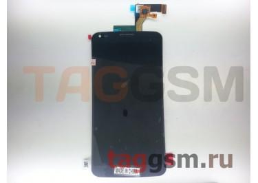 Дисплей для LG D958 G Flex + тачскрин (серый)