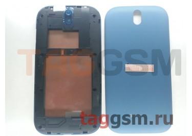 Корпус для HTC One SV (синий) ориг