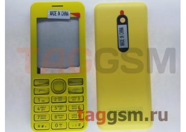 Корпус Nokia 206 (желтый)