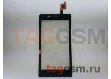 Тачскрин для Sony Xperia J (ST26i) (черный)
