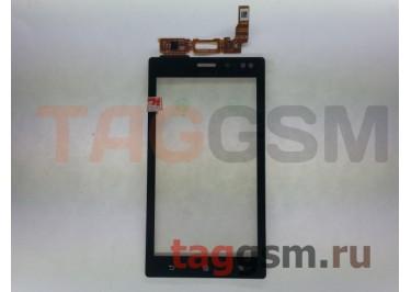 Тачскрин для Sony Xperia Sola (MT27i) (черный), ориг