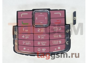 клавиатура Nokia N72 розовый AAA