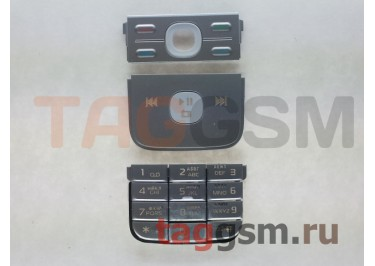 клавиатура Nokia 5700 серебро AAA